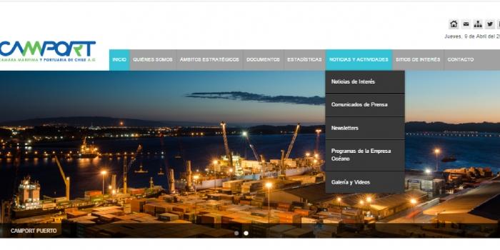 CAMPORT renueva su página WEB y su imagen corporativa