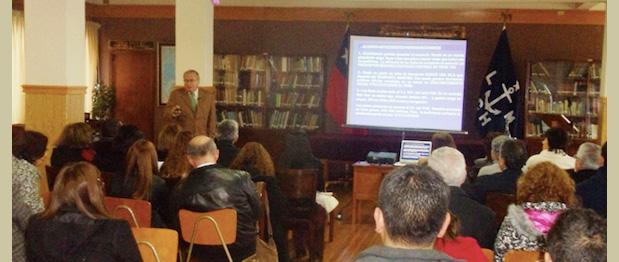 CAMPORT acerca el mar mediante charlas sobre los desafíos de los puertos chilenos