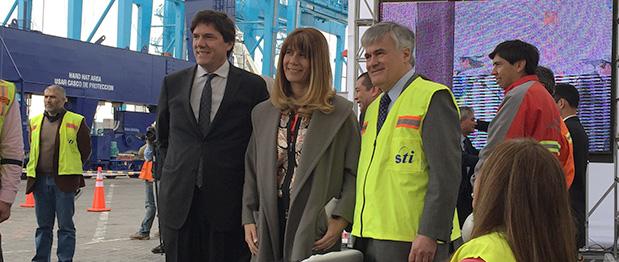 San Antonio Terminal Internacional inaugura nueva infraestructura