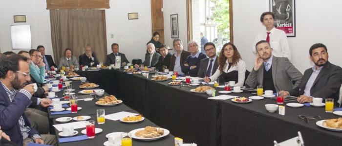 Jorge Marshall participa en XIV Diálogo del Consejo de Políticas de Infraestructura