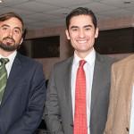 Diego Bulnes, Pedro Sepúlveda y Roberto Zilleruelo