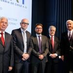 Patricio Sesnich; Jari Kauppila; Alexis Michea; Jorge Marshall y Carlos Cruz