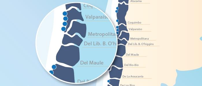 Sitio web de Camport incorpora nuevo Mapa Portuario