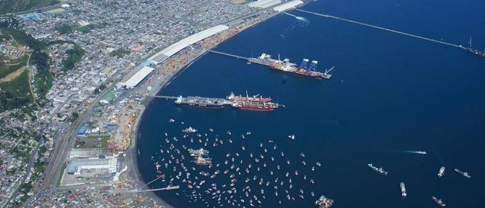 Puerto Coronel y el desafío para recibir la recalada de naves New Panamax