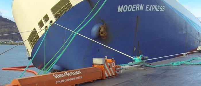 TPA adopta tecnología pionera en América para operar naves con intensas marejadas