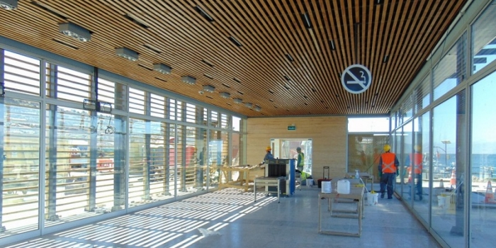 Terminal de Pasajeros de TPC listo para recibir al primer crucero