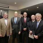 De izquierda a derecha: Ricardo Klempau, Roberto Zilleruelo, Daniel Fernández, Juan Manuel Gutiérrez, Álvaro Brunet y Jorge Marshall.