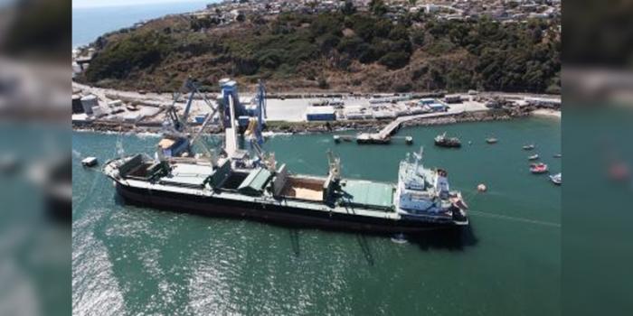 Puerto Panul cierra 2017 con récord en transferencia de granel limpio