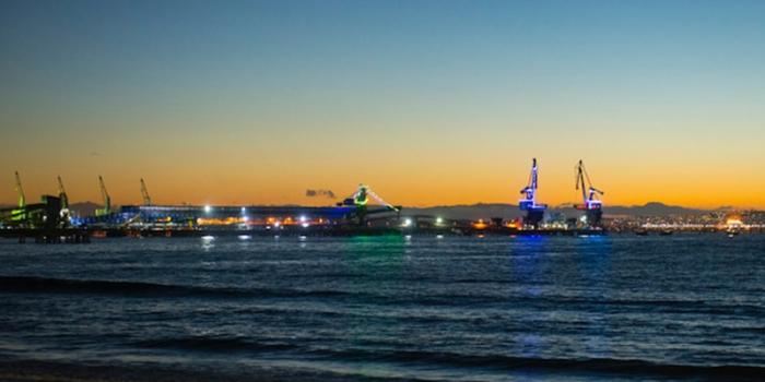 Puerto Ventanas S.A se ilumina para recibir el año nuevo 2018
