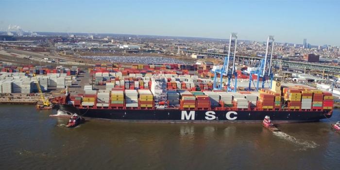 MSC se posiciona como el mayor operador de ULCS del mundo