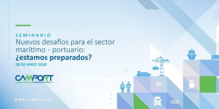 """Seminario """"Nuevos desafíos para el sector marítimo – portuario: ¿estamos preparados?"""""""