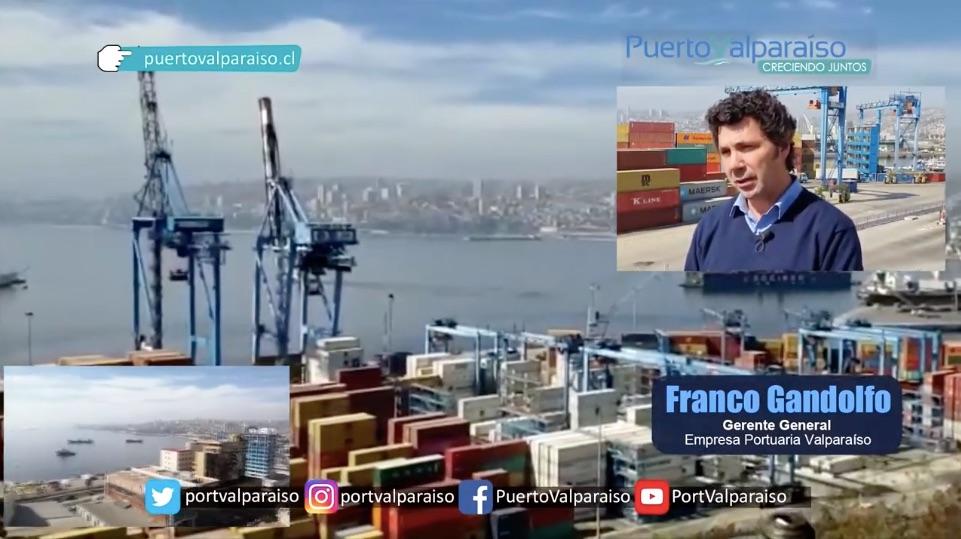 Emotivo homenaje Valparaíso