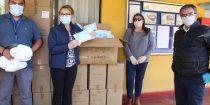 COVID-19: Puerto Ventanas entrega equipos de protección personal a la municipalidad de Puchuncaví
