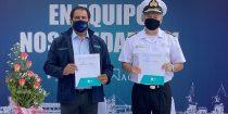Autoridad Marítima y Puerto Ventanas firman protocolo de intercambio de información para optimizar la disponibilidad de los sitios del terminal