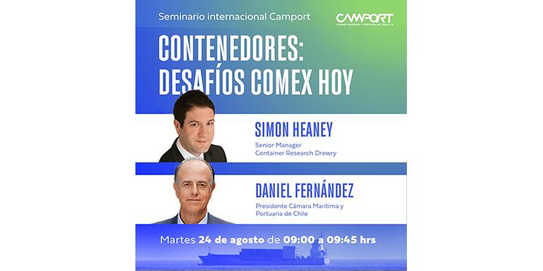 """Seminario Internacional Camport """"Contenedores: Desafío Comex Hoy"""""""
